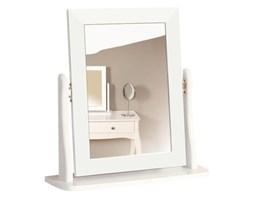 Białe lustro kosmetyczne na toaletkę Steens Baroque