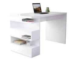 Białe biurko Gardo Snake