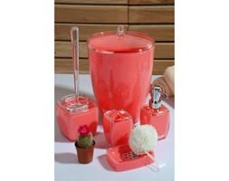 Czerwony 5-częściowy zestaw dodatków łazienkowych Karin