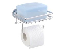 Uchwyt samoprzylepny na papier toaletowy z półeczką Wenko Express-Loc Cali