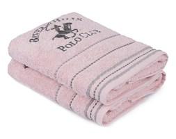 Zestaw 2 różowych ręczników do rąk, 90x50 cm