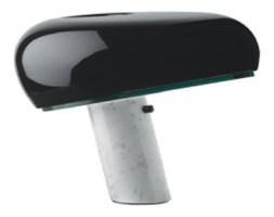 Lampa biurkowa PEAK MARBLE - marmur, metal, szkło
