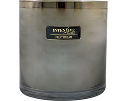 INTENSIVE COLLECTION 100% Soy Wax Luxury Candle Glass XXL1 luksusowa świeca zapachowa sojowa w szkle - Fruit Dream