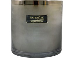 INTENSIVE COLLECTION 100% Soy Wax Luxury Candle Glass XXL1 luksusowa świeca zapachowa sojowa w szkle - Sugar Cookies