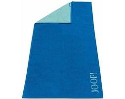 Ręcznik 100x50 cm Soft Flower Doubleface niebieski