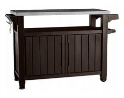 Stół grillowy ogrodowy Unity XL 183L brązowy Keter
