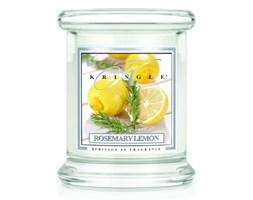 Kringle Candle - Rosemary Lemon - mini, klasyczny słoik (128g)