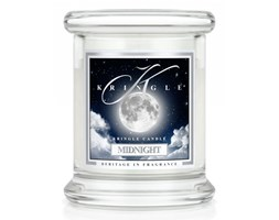Kringle Candle - Midnight - mini, klasyczny słoik (128g)