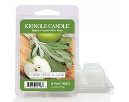 "Kringle Candle - Crisp Apple & Sage - Wosk zapachowy ""potpourri"" (64g)"