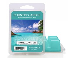 "Country Candle - Tropical Waters - Wosk zapachowy ""potpourri"" (64g)"