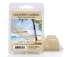 """Country Candle - Life s Beach - Wosk zapachowy """"potpourri"""" (64g)"""