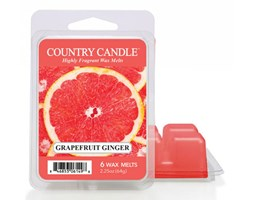 """Country Candle - Grapefruit Ginger - Wosk zapachowy """"potpourri"""" (64g)"""
