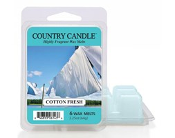 "Country Candle - Cotton Fresh - Wosk zapachowy ""potpourri"" (64g)"