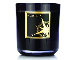 Kringle Candle - North - Tumbler (340g) z 2 knotami