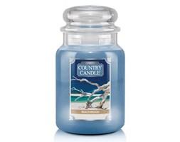 Country Candle - Beachwood - Duży słoik (680g) 2 knoty