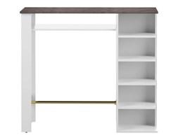 Biały stół z półkami TemaHome Tournette