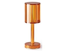 Lampa GATSBY 24,5 cm okrągła - bursztynowa