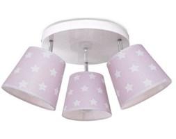 Różowa lampa sufitowa koło Stars III