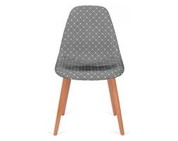 Krzesło Plush Splot King Home Czarno-białe kod: PC-016KS FC-012