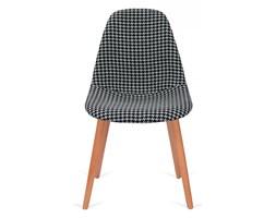 Krzesło Plush Tetris King Home biało-czarne kod: PC-016KS FC-005