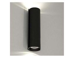Kinkiet LAMPA ścienna OZU 4404/GU10/CZ Shilo tuba OPRAWA przyścienna metalowa czarna