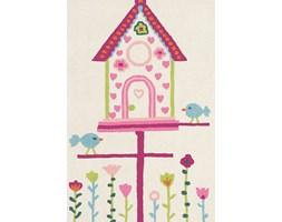 Różowo Biały Dywan Dziecięcy - HOME TWEET HOME 42302