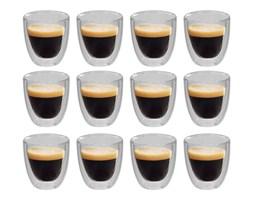 vidaXL Dwuścienne filiżanki termiczne na espresso, 12 szt., 80 ml