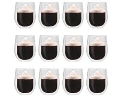 vidaXL Dwuścienne filiżanki termiczne na kawę, 12 szt., 320 ml