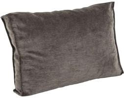 Poduszka dekoracyjna Infinity Chenille 60x40 cm ciemnoszara