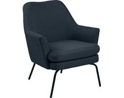 Fotel Chisa 74x83 cm ciemnoniebieski