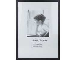 Rama na zdjęcia Decor 50x70 cm czarna