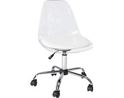 Krzesło biurowe Ghost transparentne