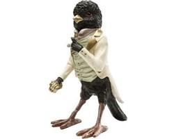 Figurka dekoracyjna Gentlemen Bird 14x24 cm kolorowa