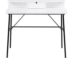 Biurko Pascal 100x55 cm biało-czarne