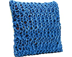Poduszka dekoracyjna Flexion 45x45 cm niebieska