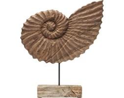 Figurka dekoracyjna Snail 50x54 cm drewniana