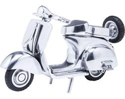 Figurka dekoracyjna Roller Paperino 25x16 cm srebrna