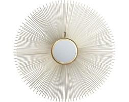 Lustro wiszące Sunbeam ∅90 cm złote
