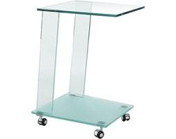 Stolik szklany Glimmer 45x40 cm