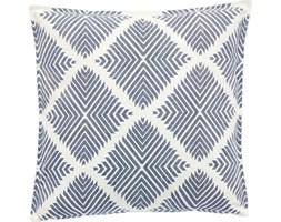 Poduszka dekoracyjna Pattern 50x50 cm niebieska w kratę
