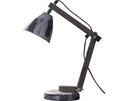 Lampa stołowa Hout 16x42 cm szara