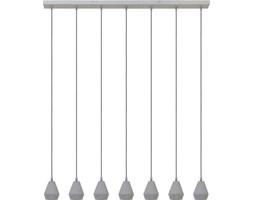 Lampa wisząca Kalissa 105x120 cm cementowa