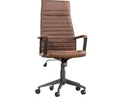 Krzesło biurowe Lazio High brązowe