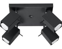 Plafon Merida 25x15 cm 4 L czarny