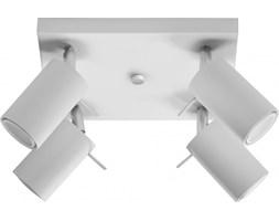 Plafon Ring 25x15 cm 4 L biały