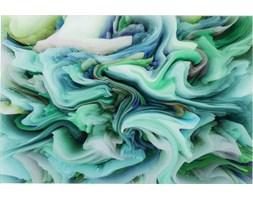 Obraz Storm 120x80 cm zielony