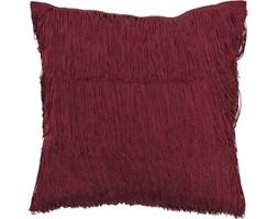 Poduszka dekoracyjna Woven 40x40 cm bordowa