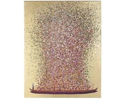 Obraz Flower Boat 160x120 cm różowy