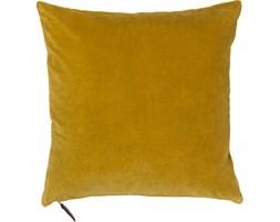Poduszka dekoracyjna aksamitna Cozy 50x50 cm żółta