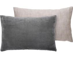 Poduszka dekoracyjna aksamitno-bawełniana Ingrid 50x30 cm zielona